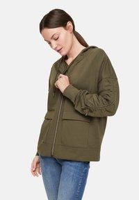 comma casual identity - Zip-up hoodie - khaki - 4