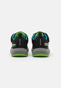 Skechers - DYNAMIC TREAD - Trainers - black/blue/lime - 2