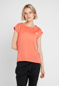 The North Face - TANKEN TANK  - Basic T-shirt - radiant orange - 0
