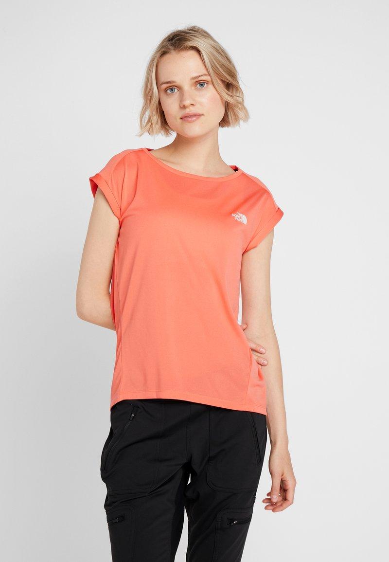 The North Face - TANKEN TANK  - Basic T-shirt - radiant orange