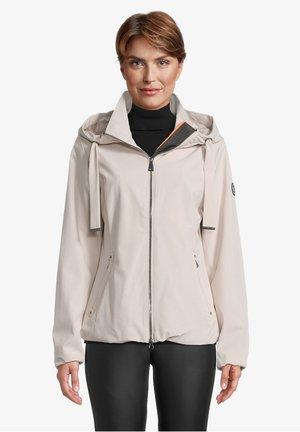 MIT KAPUZE - Outdoor jacket - beige
