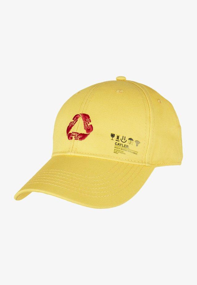 Cap - yellow/mc