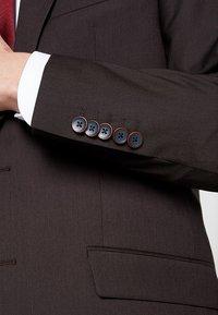 Bugatti - SUIT REGULAR FIT - Suit - bordeaux - 7