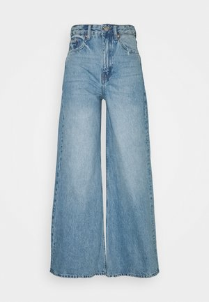 AIKO LONG - Flared jeans - blue jay