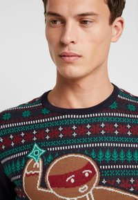 edc by Esprit - CHRISTMAS - Jumper - navy - 5