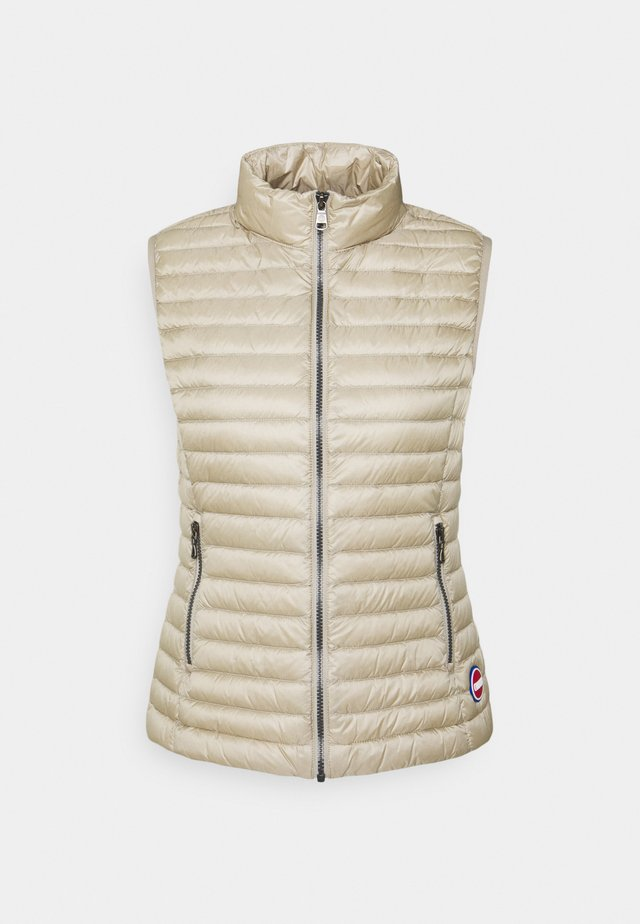 LADIES - Bodywarmer - toast/light steel