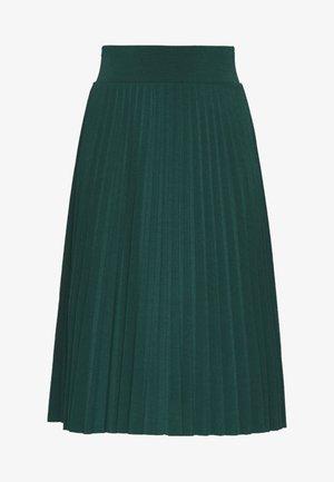 Plisse A-line mini skirt - Falda acampanada - scarab