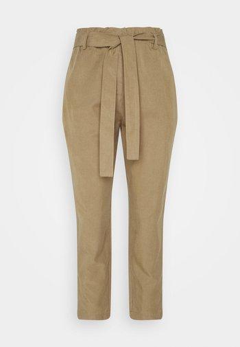 WOVEN PANTS - Trousers - sandy beach