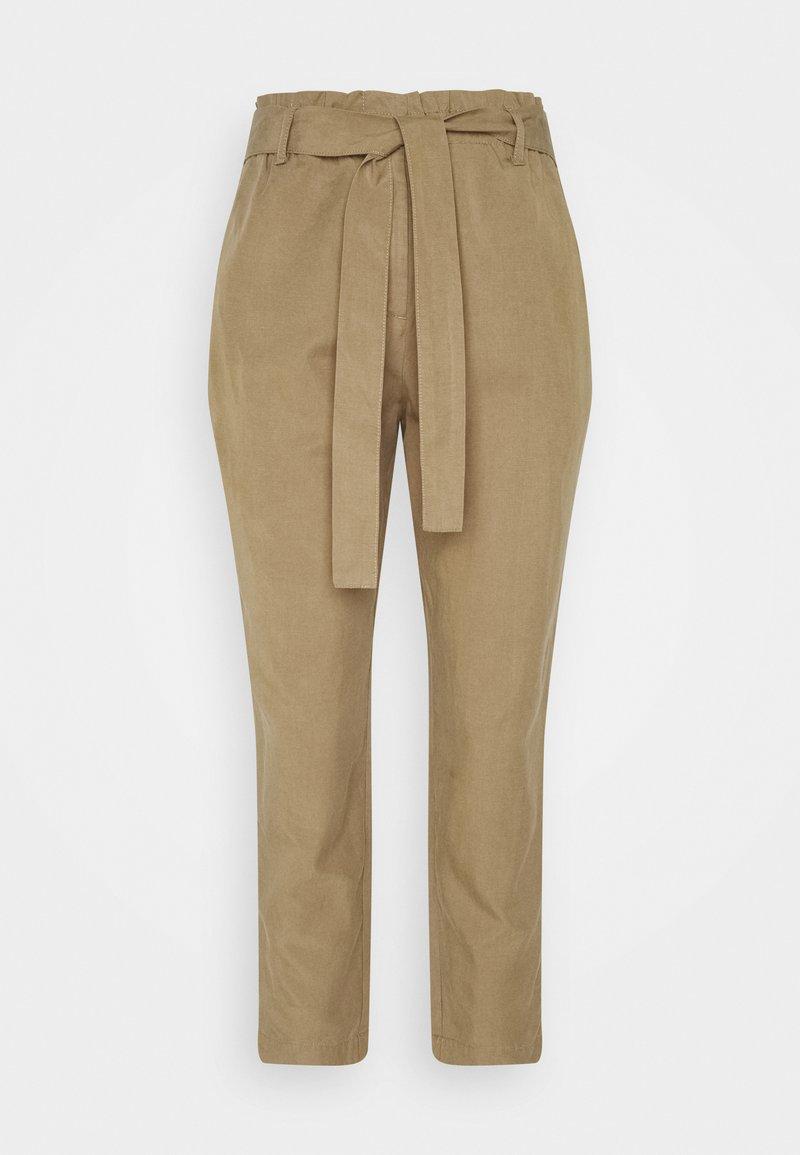 Marc O'Polo - WOVEN PANTS - Trousers - sandy beach