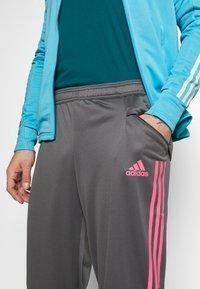 adidas Performance - REAL MADRID AEROREADY FOOTBALL TRACKSUIT SET - Fanartikel - brcyan - 8