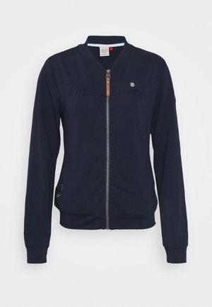 KENIA - Zip-up sweatshirt - navy