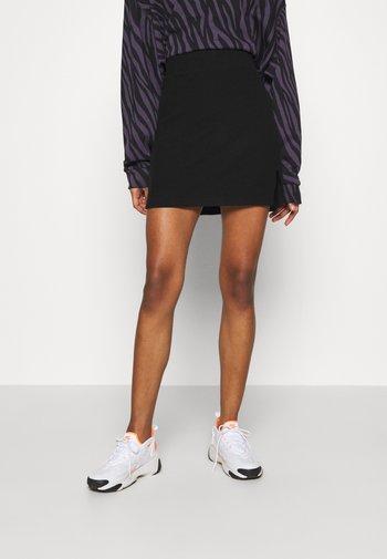 MAYA SKIRT - Mini skirt - black