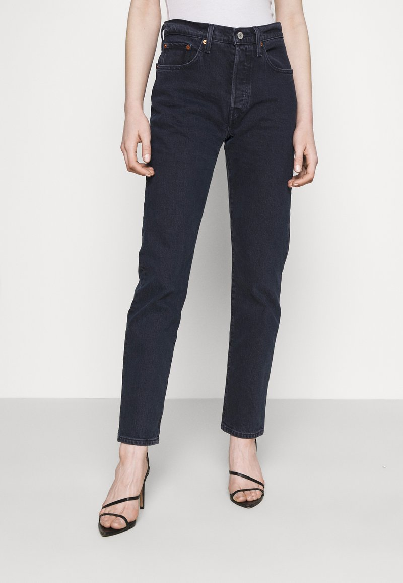 Levi's® - 501® CROP - Slim fit jeans - deep dark