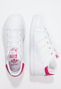 adidas Originals - STAN SMITH  - Sneakers basse - white/bold pink - 1