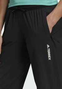 adidas Performance - TERREX LITEFLEX HIKING TRACKSUIT BOTTOMS - Tracksuit bottoms - black - 5