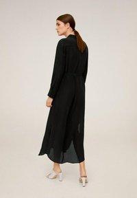Mango - NINGBOX-I - Shirt dress - black - 2
