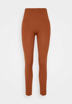 ONPLOUNGE  - Tights - ginger bread
