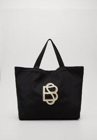 Becksöndergaard - SOLID FOLDABLE BAG - Velká kabelka - black - 0
