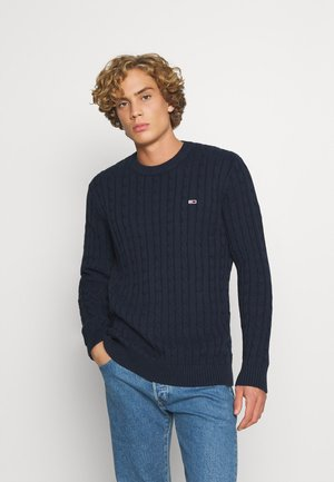 ESSENTIAL CABLE SWEATER - Maglione - twilight navy