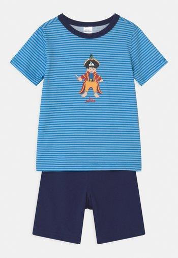 KIDS CAPTAIN SHARKY KURZ - Pyjama set - blau
