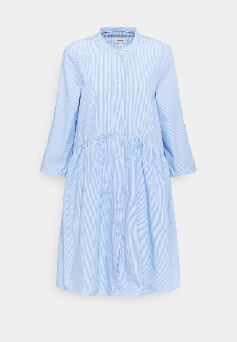 ONLY Tall - ONLCHICAGO LIFE STRIPE  - Day dress - white/blue