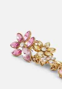 Pieces - PCPELLA EARRINGS - Earrings - gold-coloured/champagne/clear/pink - 2