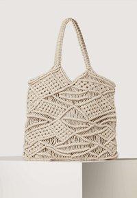 OYSHO - Tote bag - beige - 1