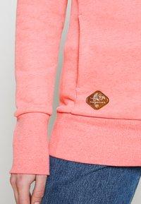 Ragwear - GRIPY BOLD - Mikina skapucí - pink - 5