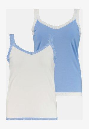 2 PACK  - Undershirt - wolkenblau