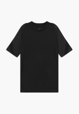 T-shirts med print - anthracite/black