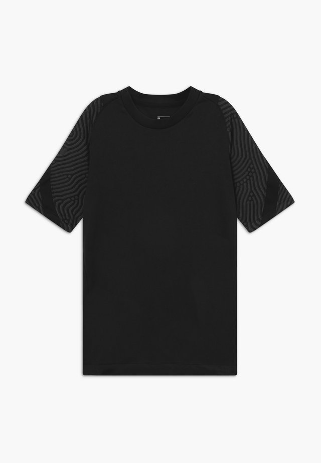 T-shirt imprimé - anthracite/black