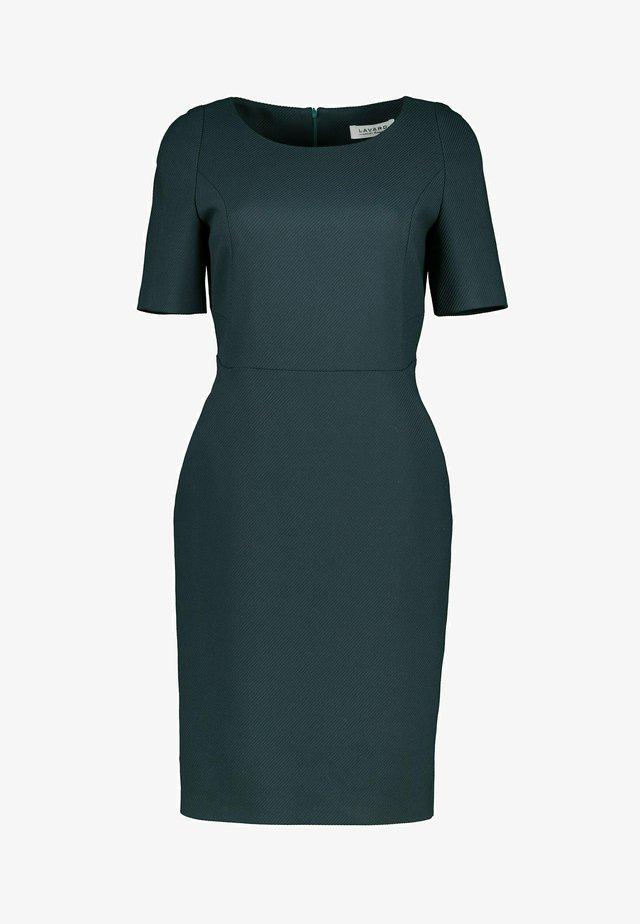 Korte jurk - flaschengrün