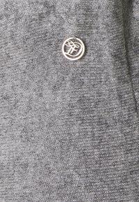 TOM TAILOR DENIM - SKATER SKIRT - Mini skirt - light silver grey mélange - 2