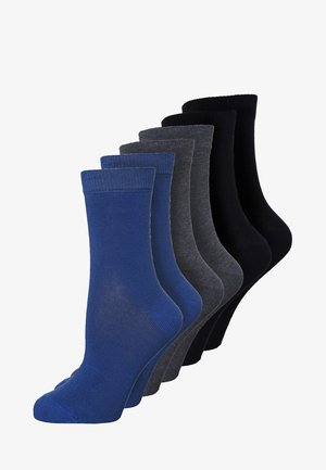 6 PACK - Socks - navy/aqua/indigo