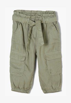 REGULAR FIT: 3/4 - Pantalon cargo - khaki