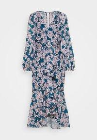 Forever New - WAIST SASH MIDI DRESS - Day dress - mottled teal - 3