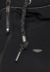Ragwear Plus - NESKA ZIP PLUS - Sweatjakke - black - 3