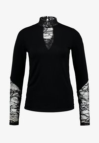 Culture - BLOUSE - Long sleeved top - black - 3