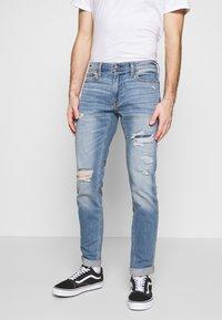 Hollister Co. - Jeans Skinny Fit - dark blue denim - 0