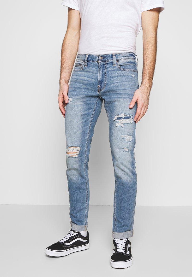 Hollister Co. - Jeans Skinny Fit - dark blue denim
