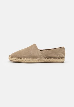 LEATHER UNISEX - Espadrilles - beige