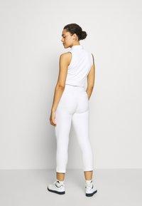 adidas Golf - PULLON ANKLE PANT - Kalhoty - white - 2