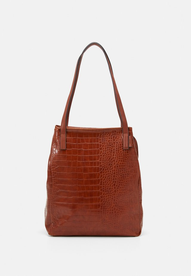 ARONA - Tote bag - cognac