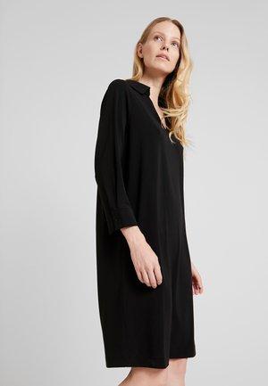 QUARIE - Jersey dress - black
