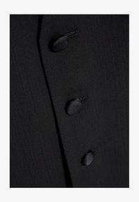 Next - SIGNATURE PLAIN SUIT: WAISTCOAT - Gilet elegante - black - 1
