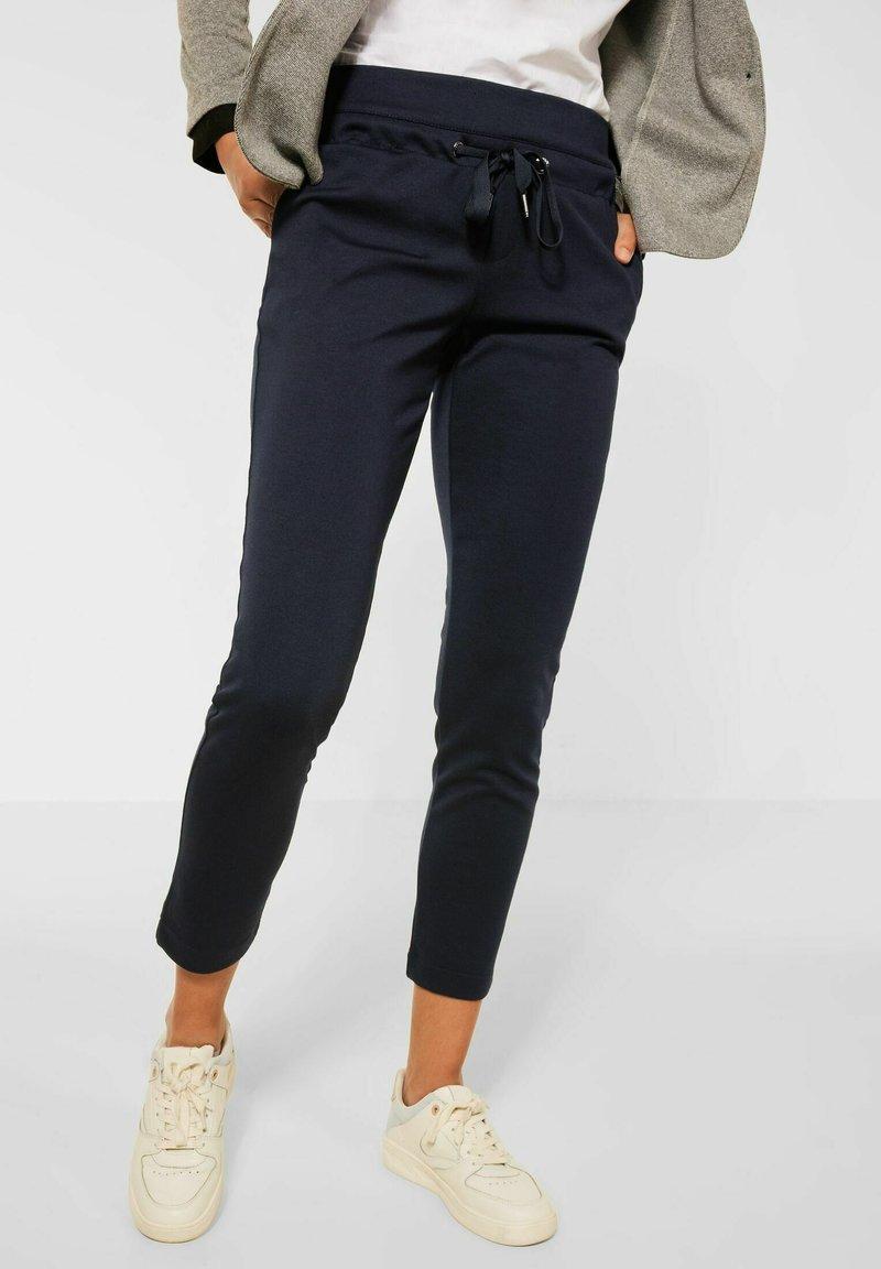 Street One - LOOSE FIT - Trousers - blau