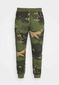 STAPLE PIGEON - UNISEX WIRE - Teplákové kalhoty - olive - 3