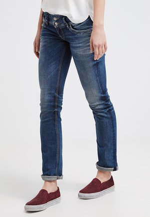 JONQUIL - Jeans a sigaretta - blue lapis wash