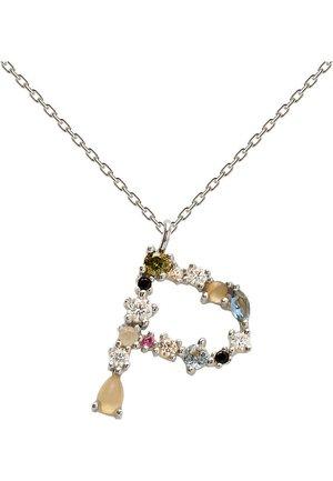 LETTER NECKLACE - Necklace - multi-coloured