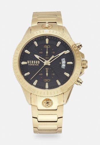 GRIFFITH UNISEX - Zegarek chronograficzny - gold-coloured/black